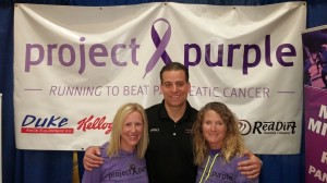 With two incredible people, Elli Zadina & Project Purple founder, Dino Verrelli