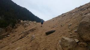 Climbing the hills