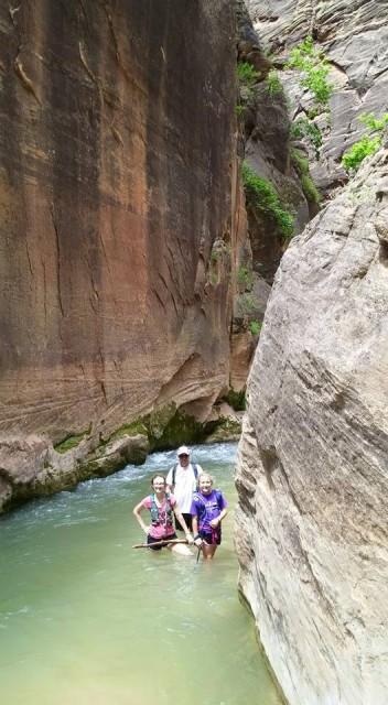 steve, peyton & riley in the narrows