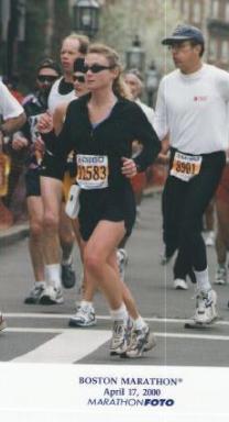Boston Marathon 2000