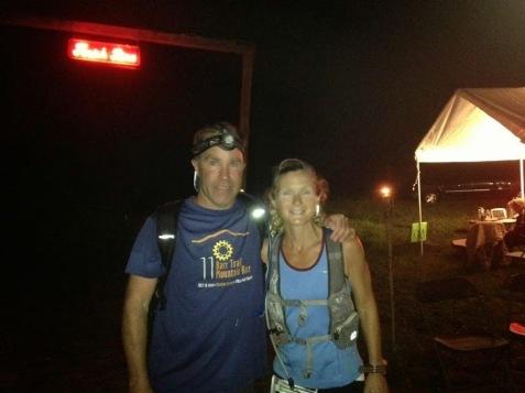 Vermont 100 finish, 2013
