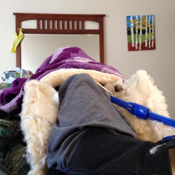 CPM leg bed