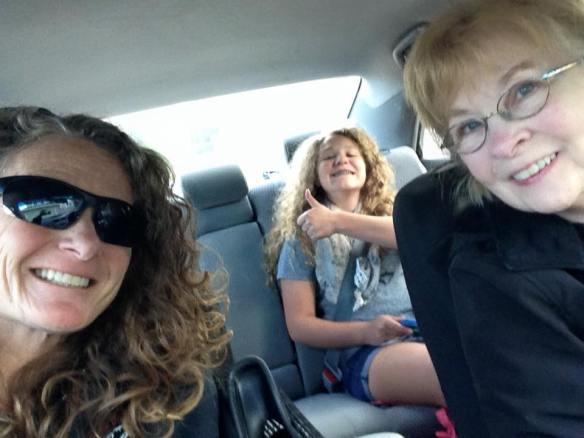 mom driving us